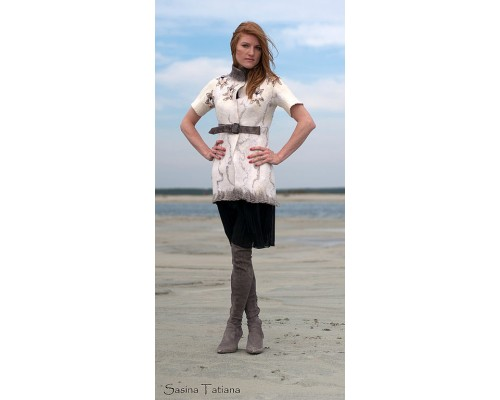 А на море белый песок...